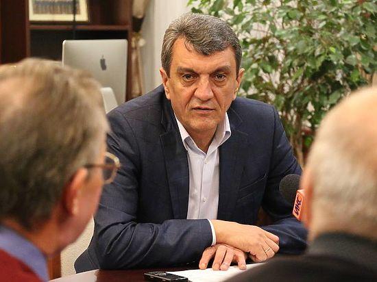 Полпред президента вСибири Сергей Меняйло прилетел вНовосибирск