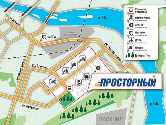 «Нью-Чемской»: новый микрорайон появился на карте Новосибирска