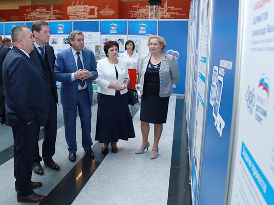 НСО лидирует в России по реализации партпроектов «Единой России»