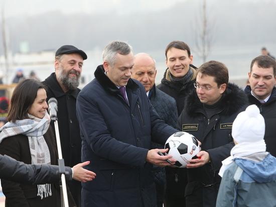 Новосибирск посетил замминистра ЖКХ России Андрей Чибис