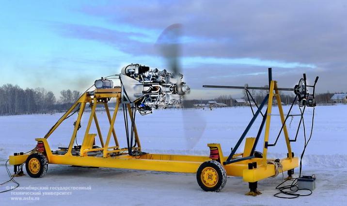 ВРФ создали первый вмире алюминиевый авиадвигатель